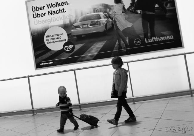Über den Wolken am Flughafen Köln/Bonn