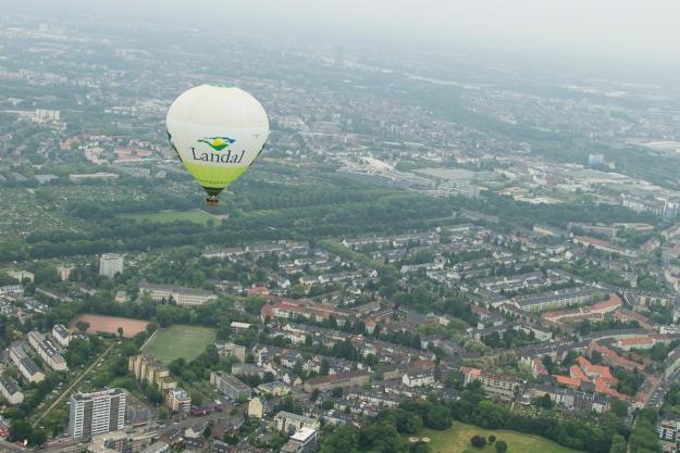 Unser Begleitballon